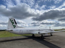 JAA767さんが、能登空港で撮影した日本航空学園 YS-11A-500の航空フォト(飛行機 写真・画像)