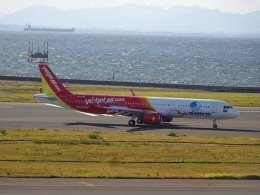 ukokkeiさんが、中部国際空港で撮影したベトジェットエア A321-271Nの航空フォト(飛行機 写真・画像)