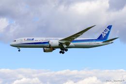 pan_kumaさんが、成田国際空港で撮影した全日空 787-9の航空フォト(飛行機 写真・画像)