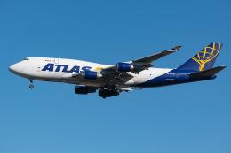 Tomo-Papaさんが、横田基地で撮影したアトラス航空 747-45E(BDSF)の航空フォト(飛行機 写真・画像)