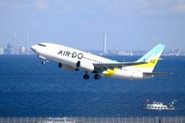 そば小猿さんが、羽田空港で撮影したAIR DO 737-781の航空フォト(飛行機 写真・画像)