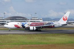 神宮寺ももさんが、高松空港で撮影した日本航空 767-346/ERの航空フォト(飛行機 写真・画像)