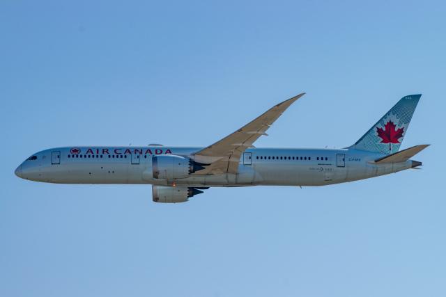 gomaさんが、フランクフルト国際空港で撮影したエア・カナダ 787-9の航空フォト(飛行機 写真・画像)