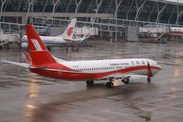 磐城さんが、上海浦東国際空港で撮影した上海航空 737-86Dの航空フォト(飛行機 写真・画像)