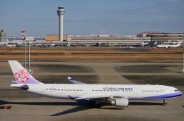 kaeru6006さんが、羽田空港で撮影したチャイナエアライン A330-302の航空フォト(飛行機 写真・画像)