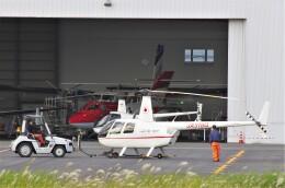 mild lifeさんが、八尾空港で撮影した三井住友ファイナンス&リース R44 Iの航空フォト(飛行機 写真・画像)