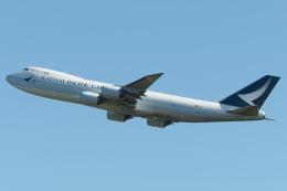 木人さんが、成田国際空港で撮影したキャセイパシフィック航空 747-867F/SCDの航空フォト(飛行機 写真・画像)