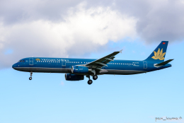 pan_kumaさんが、成田国際空港で撮影したベトナム航空 A321-231の航空フォト(飛行機 写真・画像)