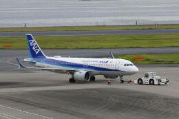 mocohide☆さんが、羽田空港で撮影した全日空 A320-271Nの航空フォト(飛行機 写真・画像)