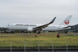 516105さんが、出雲空港で撮影した日本航空 767-346/ERの航空フォト(飛行機 写真・画像)