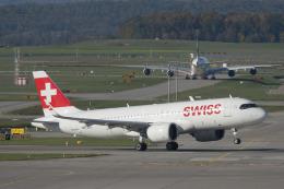 planetさんが、チューリッヒ空港で撮影したスイスインターナショナルエアラインズ A320-271Nの航空フォト(飛行機 写真・画像)