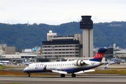 khideさんが、伊丹空港で撮影したアイベックスエアラインズ CL-600-2C10(CRJ-702ER)の航空フォト(飛行機 写真・画像)