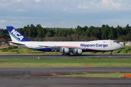 yabyanさんが、成田国際空港で撮影した日本貨物航空 747-8KZF/SCDの航空フォト(飛行機 写真・画像)
