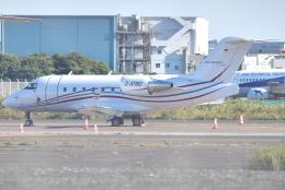 jun☆さんが、羽田空港で撮影したドイツ企業所有 CL-600-2B16 Challenger 604の航空フォト(飛行機 写真・画像)
