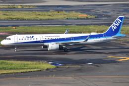 jun☆さんが、羽田空港で撮影した全日空 A321-272Nの航空フォト(飛行機 写真・画像)