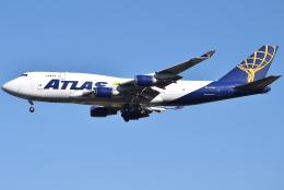 jun☆さんが、横田基地で撮影したアトラス航空 747-45E(BDSF)の航空フォト(飛行機 写真・画像)