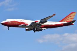 jun☆さんが、横田基地で撮影したナショナル・エアラインズ 747-446(BCF)の航空フォト(飛行機 写真・画像)