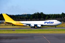 まいけるさんが、成田国際空港で撮影したポーラーエアカーゴ 747-87UF/SCDの航空フォト(飛行機 写真・画像)