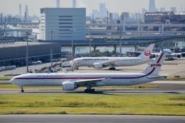 たかまっさんさんが、羽田空港で撮影したガルーダ・インドネシア航空 777-3U3/ERの航空フォト(飛行機 写真・画像)