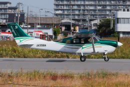 A.Tさんが、八尾空港で撮影した共立航空撮影 T206H Turbo Stationairの航空フォト(飛行機 写真・画像)