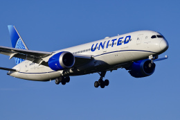Frankspotterさんが、成田国際空港で撮影したユナイテッド航空 787-9の航空フォト(飛行機 写真・画像)