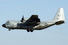 Flankerさんが、厚木飛行場で撮影したアメリカ海軍 C-130T Herculesの航空フォト(飛行機 写真・画像)