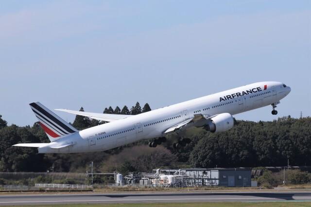 2021年10月24日に撮影されたエールフランス航空の航空機写真