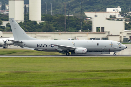 Flankerさんが、嘉手納飛行場で撮影したアメリカ海軍 P-8A (737-8FV)の航空フォト(飛行機 写真・画像)