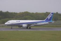 プルシアンブルーさんが、中標津空港で撮影した全日空 A320-211の航空フォト(飛行機 写真・画像)