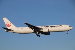 天王寺王子さんが、成田国際空港で撮影した日本航空 767-346/ERの航空フォト(飛行機 写真・画像)