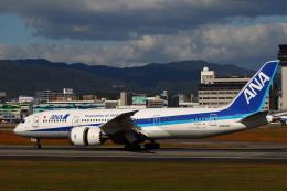manzoさんが、伊丹空港で撮影した全日空 787-8 Dreamlinerの航空フォト(飛行機 写真・画像)
