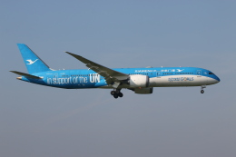 NIKEさんが、アムステルダム・スキポール国際空港で撮影した厦門航空 787-9の航空フォト(飛行機 写真・画像)