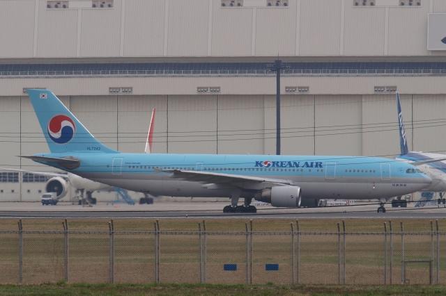 木人さんが、成田国際空港で撮影した大韓航空 A300B4-622Rの航空フォト(飛行機 写真・画像)