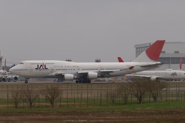 木人さんが、成田国際空港で撮影した日本航空 747-446の航空フォト(飛行機 写真・画像)