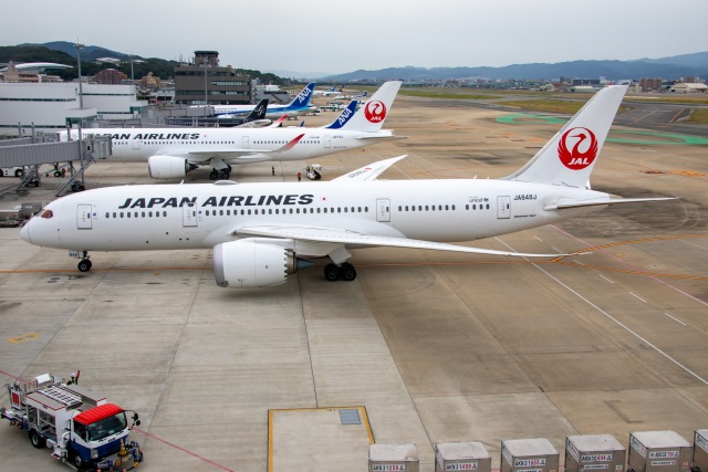 TIA spotterさんが、福岡空港で撮影した日本航空 787-8 Dreamlinerの航空フォト(飛行機 写真・画像)