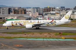 TIA spotterさんが、福岡空港で撮影した日本航空 A350-941の航空フォト(飛行機 写真・画像)