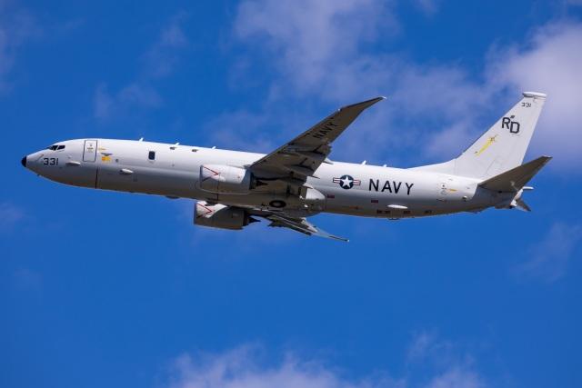 TIA spotterさんが、横田基地で撮影したアメリカ海軍 P-8A (737-8FV)の航空フォト(飛行機 写真・画像)