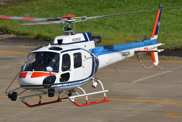Cスマイルさんが、花巻空港で撮影した中日本航空 AS350B3 Ecureuilの航空フォト(飛行機 写真・画像)