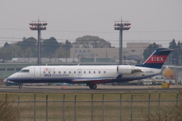 木人さんが、成田国際空港で撮影したアイベックスエアラインズ CL-600-2B19(CRJ-200ER)の航空フォト(飛行機 写真・画像)