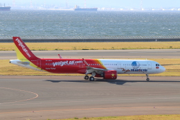 クロマティさんが、中部国際空港で撮影したベトジェットエア A321-271Nの航空フォト(飛行機 写真・画像)