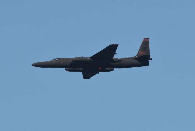 小弦さんが、Fleet Week 2021で撮影したアメリカ空軍 U-2 Dragon Ladyの航空フォト(飛行機 写真・画像)
