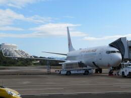 ヒロリンさんが、南紀白浜空港で撮影した日本航空 737-846の航空フォト(飛行機 写真・画像)