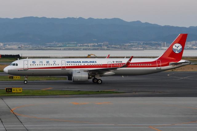 Deepさんが、関西国際空港で撮影した四川航空 A321-271Nの航空フォト(飛行機 写真・画像)
