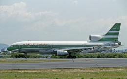Gambardierさんが、名古屋飛行場で撮影したキャセイパシフィック航空 L-1011-385-1 TriStar 1の航空フォト(飛行機 写真・画像)