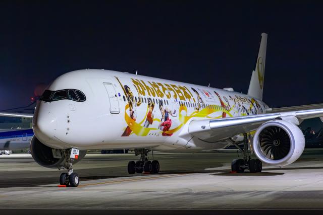 Foxfireさんが、羽田空港で撮影した日本航空 A350-941の航空フォト(飛行機 写真・画像)