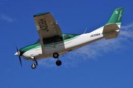 mild lifeさんが、八尾空港で撮影した共立航空撮影 T206H Turbo Stationairの航空フォト(飛行機 写真・画像)