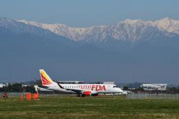 EC5Wさんが、松本空港で撮影したフジドリームエアラインズ ERJ-170-200 (ERJ-175STD)の航空フォト(飛行機 写真・画像)