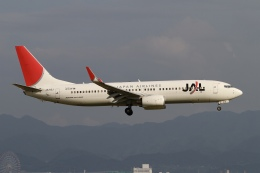 ☆H・I・J☆さんが、関西国際空港で撮影した日本航空 737-846の航空フォト(飛行機 写真・画像)
