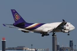 木人さんが、成田国際空港で撮影したタイ国際航空 747-4D7の航空フォト(飛行機 写真・画像)