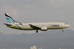 ☆H・I・J☆さんが、関西国際空港で撮影したエアプサン 737-48Eの航空フォト(飛行機 写真・画像)